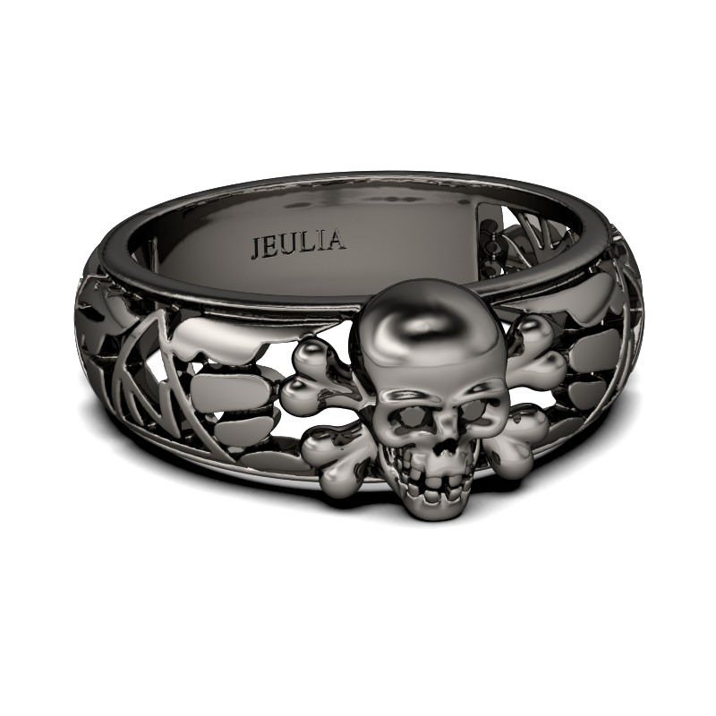 gothic wedding band - Gothic Wedding Rings